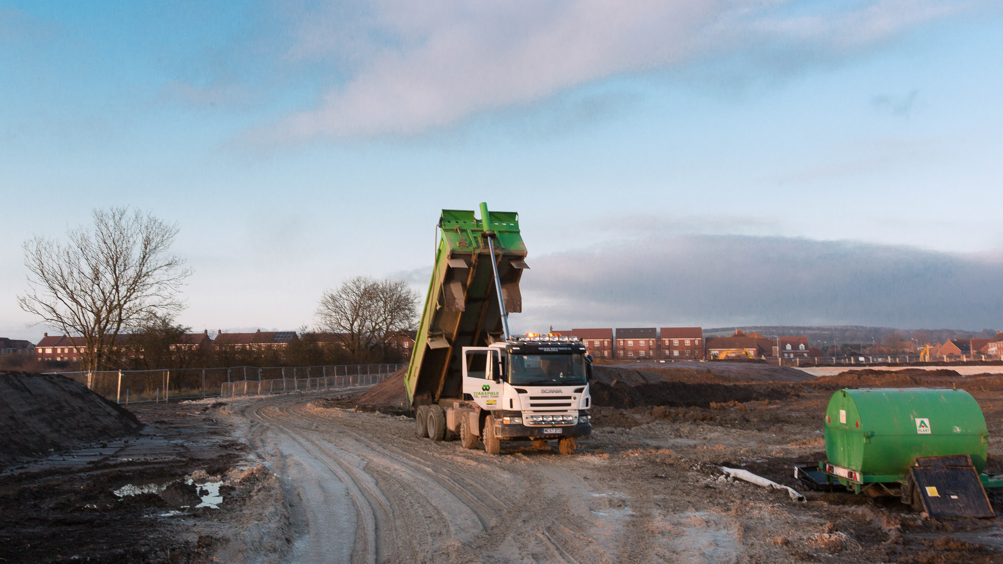 Brough South ground works